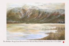 The Skiddaw Range from Derwentwater